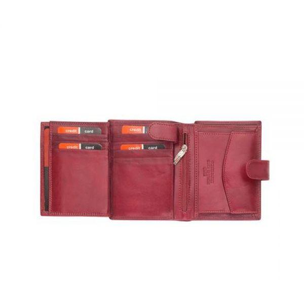 Дамски портфейл Pierre Cardin,  с розова щампа.