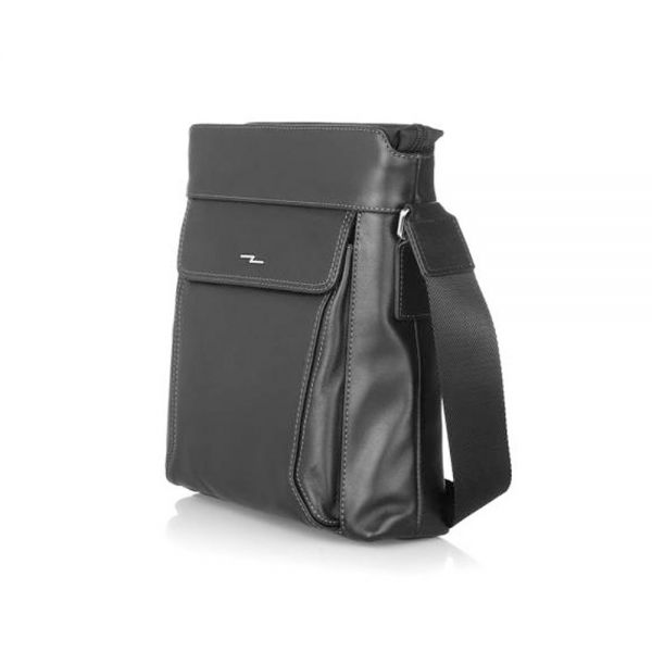 Средна мъжка чанта SILVER FLAM