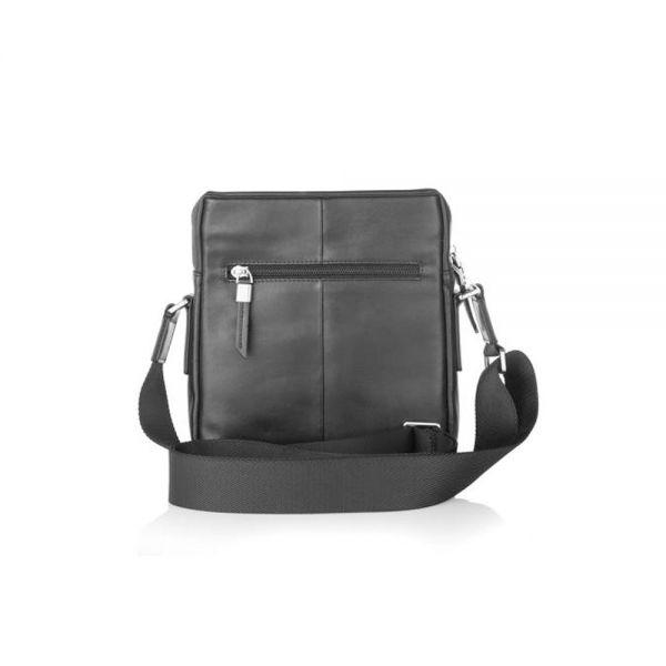 Черна чанта SILVER FLAM, голяма