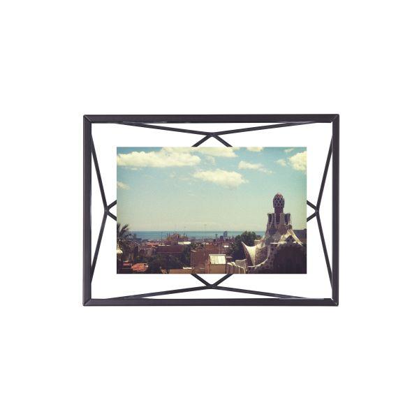 """UMBRA Рамка за снимки """"PRISMA"""" - цвят черен - 10х15см"""