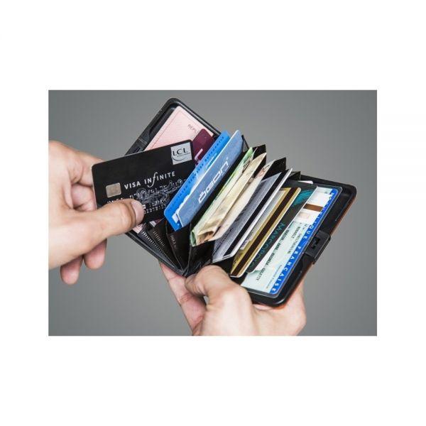 Портфейл OGON Card case Stockholm, Черен