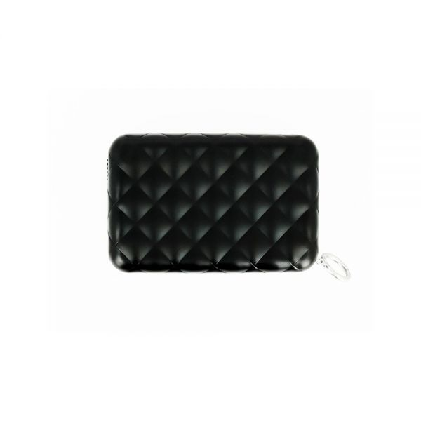 Дамски портфейл OGON Quilted Button, Rose Gold