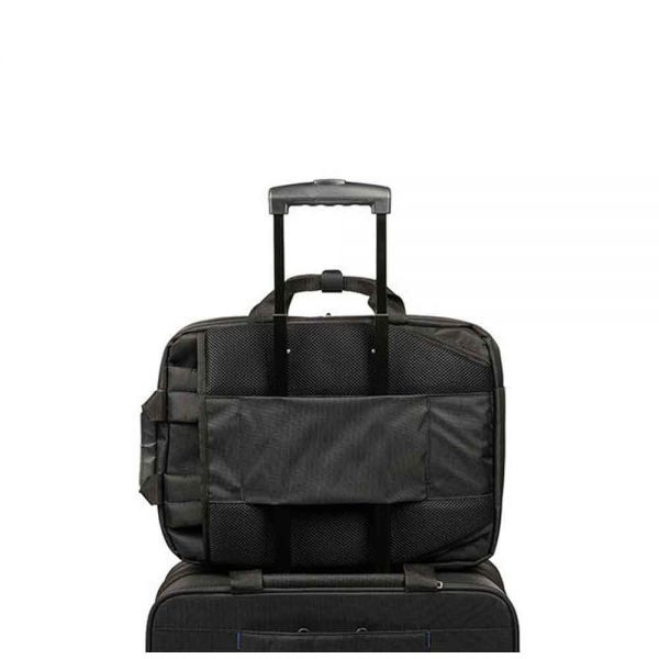 Черна бизнес чанта Vectura за 16 инча лаптопЧерна раница и чанта за рамо за 15,6'' инча лаптоп Guardit UP
