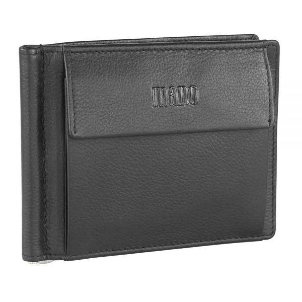 Мъжки портфейл Mano Medio с щипка за пари
