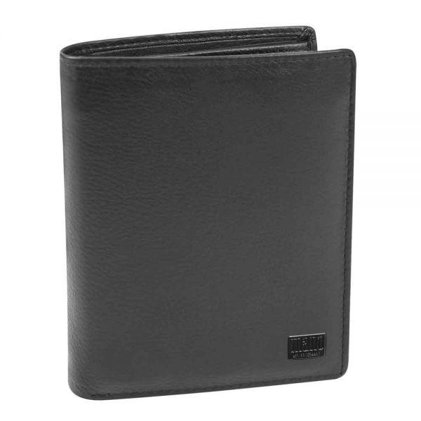 Вертикален портфейл MANO Certo със свалящо се отделение за лични карти, RFID