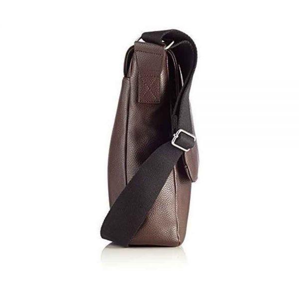 Вертикална чанта Bugatti Boston от еко кожа