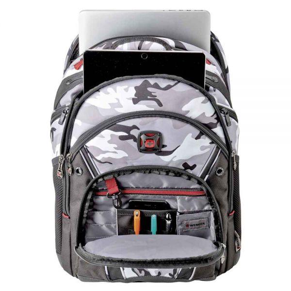 """Раница за 16"""" лаптоп Wenger Synergy Arctic Camo, 30 литра"""