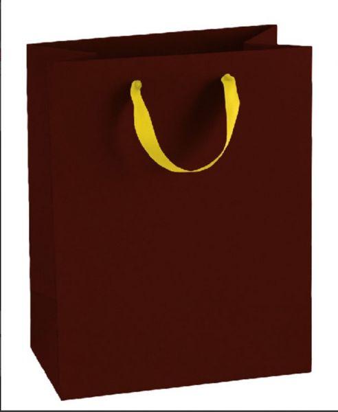 Подаръчна торбичка, бордо, размер М