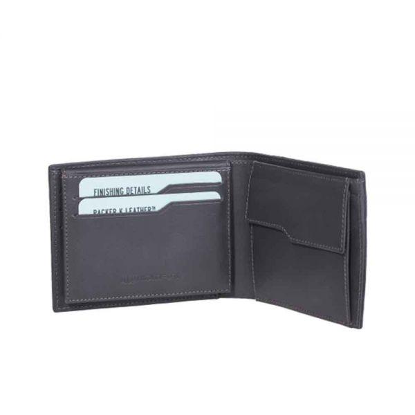Мъжки портфейл с Отделение за документи от Карбон Coldfire, GT-Rebel Carbon Fiber Wallet with ID, RFID защита