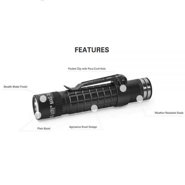 MAGLITE ML300LX LED фенер с три батерии D