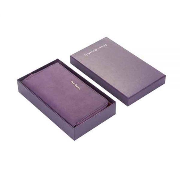 Дамски портмоне Pierre Cardin, лилаво мрежа