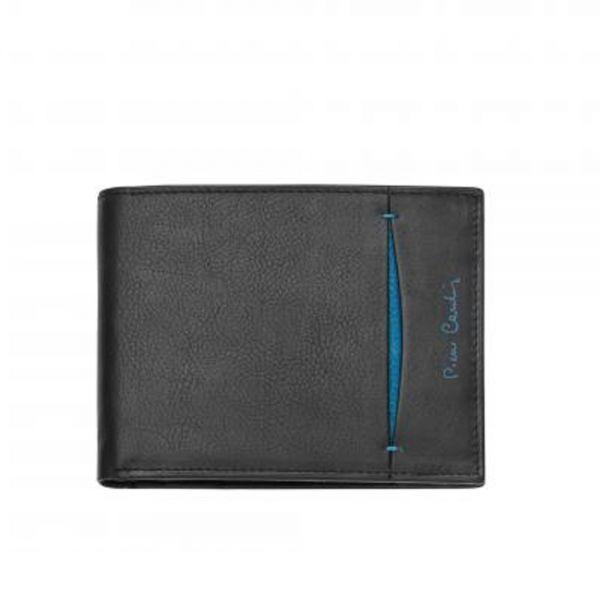 Мъжки портфейл Pierre Cardin, със синьо