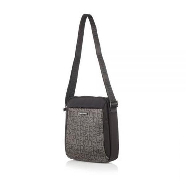 Мъжки чанта Pierre Cardin черно/тъмно кафяво