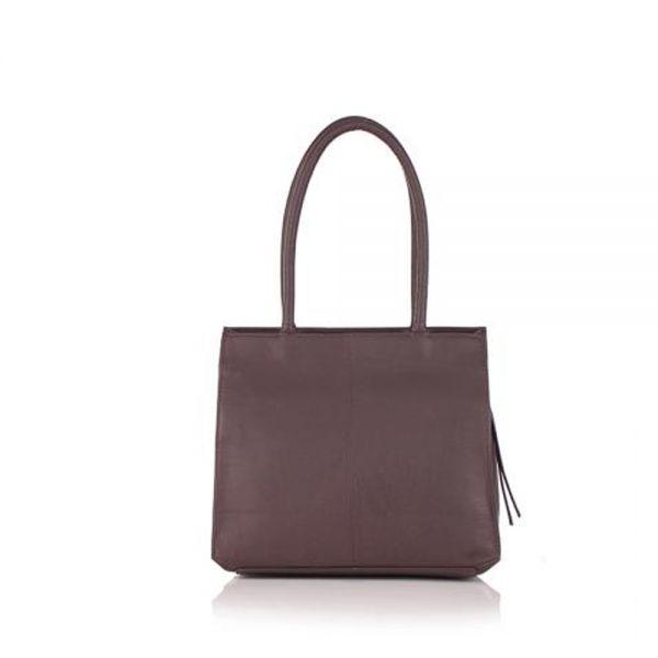 Дамска чанта ROSSI, шоколадово кафява