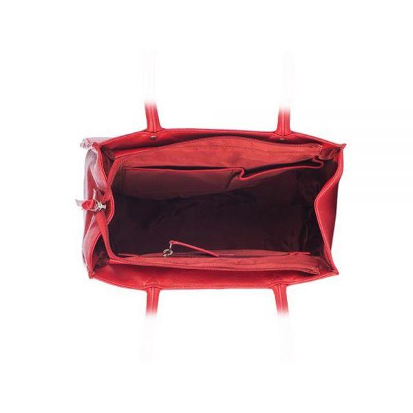 Червенa дамска чанта ROSSI