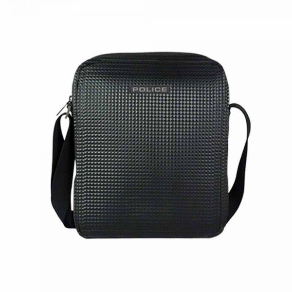 Голяма мъжка чанта за рамо – POLICE NEO PYRAMID, черна