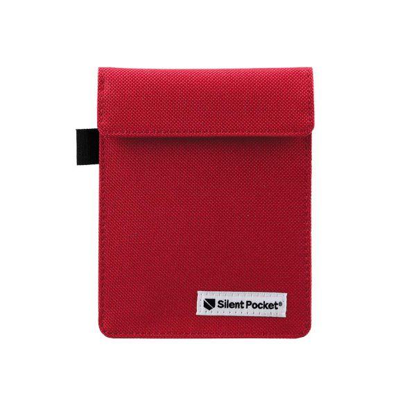 Калъф/протектор за автомобилен ключ (за автомобили с безключово запалване) Silent Pocket, червен