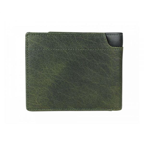 Мъжки портфейл Police Waldo, с монетник, тъмнозелен