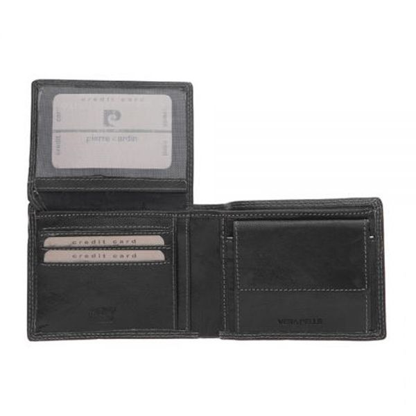 Мъжки портфейл Pierre Cardin с украсителни шевове