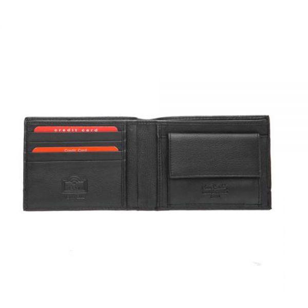 Мъжки портфейл Pierre Cardin с хоризонтала черна черта