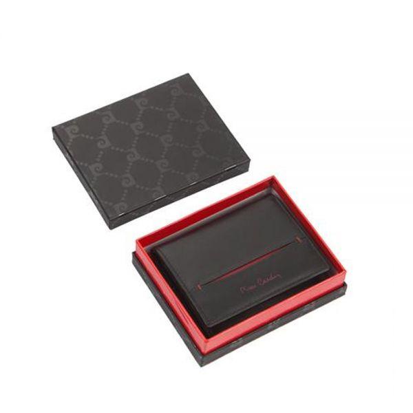 Малък мъжки портфейл Pierre Cardinс,с външен монетник
