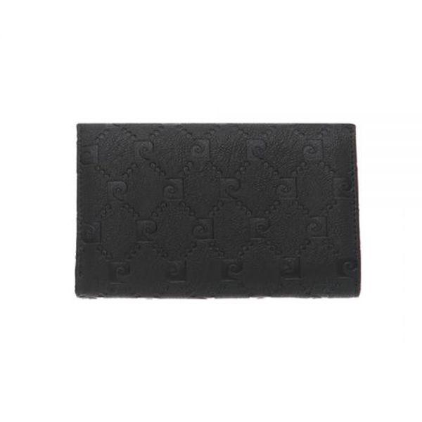 Дамски портмоне Pierre Cardin, черна щампа