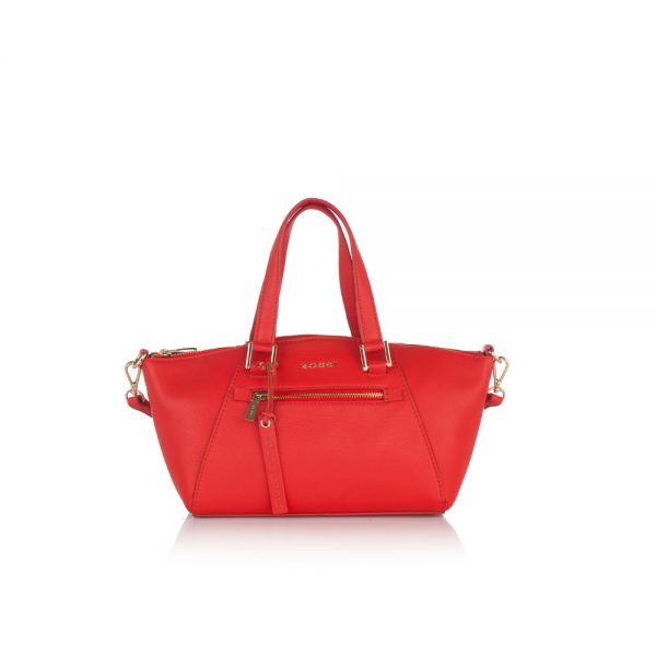 Малка елегантна чанта ROSSI, малиновa