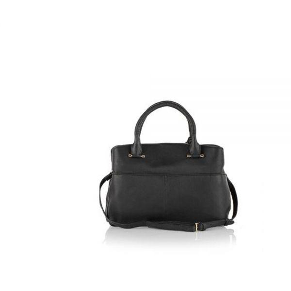 Малка елегантна чанта ROSSI, червенa