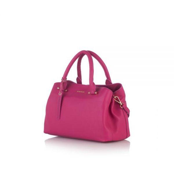 Класическа дамска чанта ROSSI, в черно