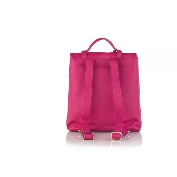 Класическа дамска чанта ROSSI, в тъмно бежoво