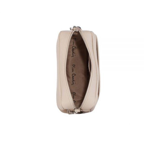 Малка дамска чанта Pierre Cardin - Petit, пъпеш