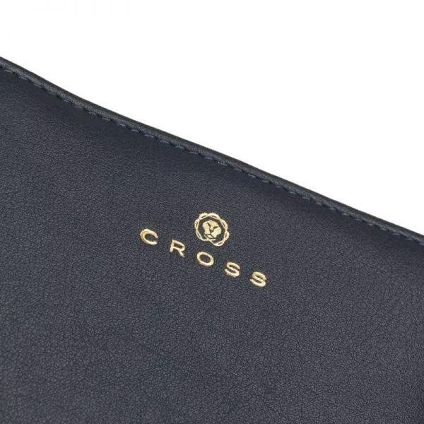 Дамски портфейл Cross Monaco Small Flap, оранжев