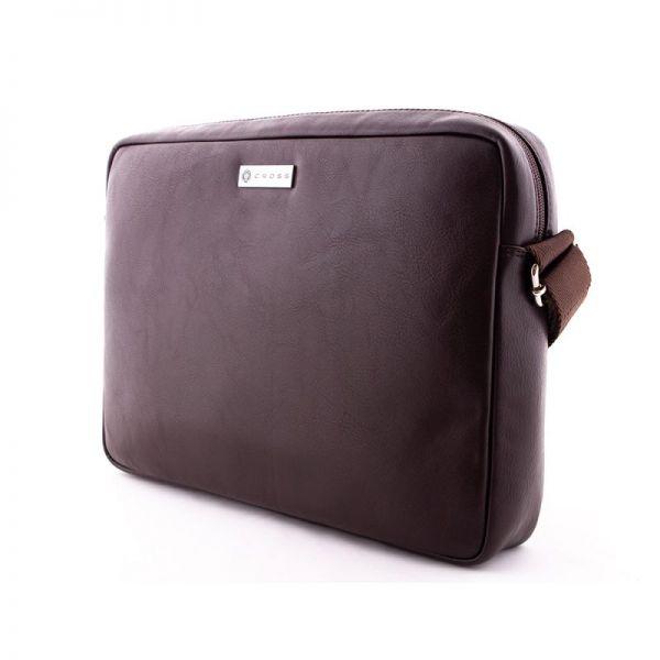 Кожена чанта за документи Cross Insignia, BLACK