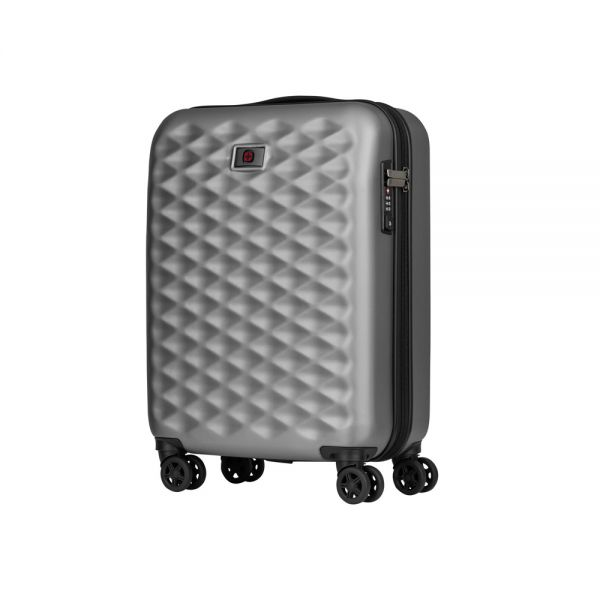 Куфар Wenger Lumen Hardside Luggage 20'' Carry-On, 32 литра, черен