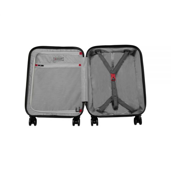 Куфар Wenger Lumen Hardside Luggage 20'' Carry-On, 32 литра, сив