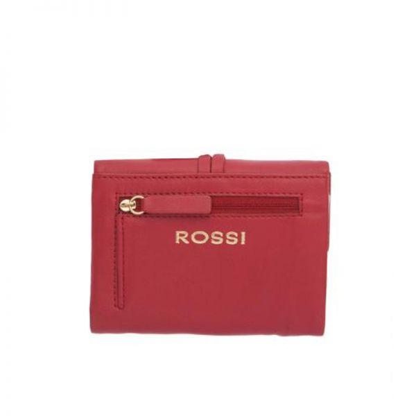 Палко дамско портмоне ROSSI, в черно