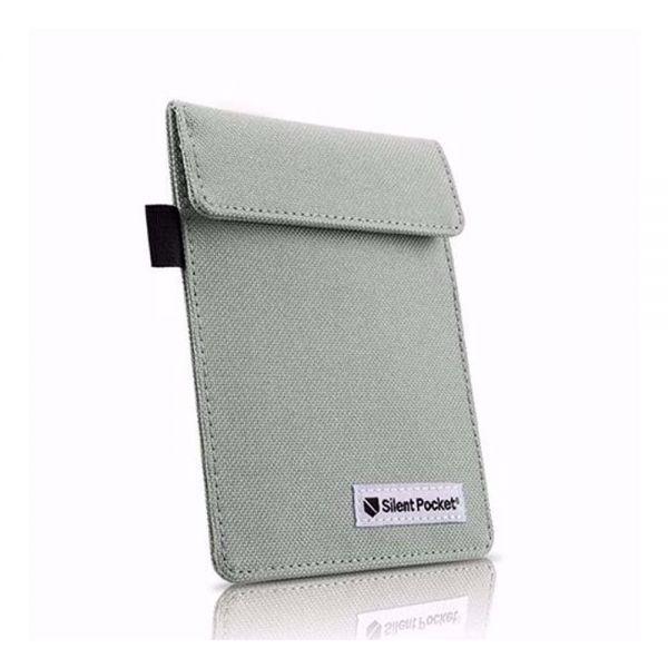 Калъф/протектор за автомобилен ключ (за автомобили с безключово запалване) Silent Pocket, ЧЕРЕН