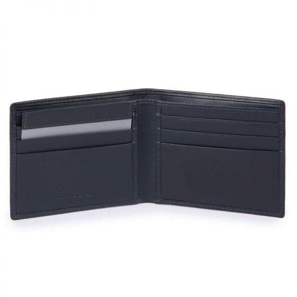 Тънък мъжки портфейл Piquadro с монетник