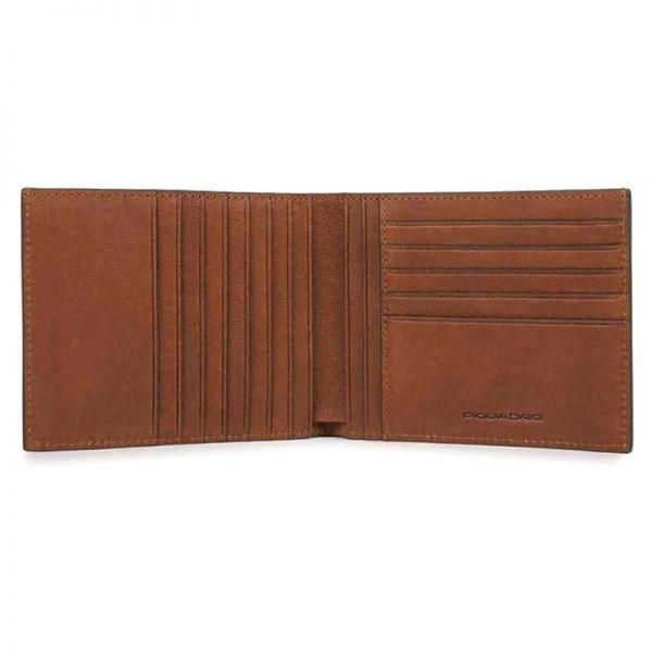 Mъжки портфейл Piquadro с 12 отделения за карти