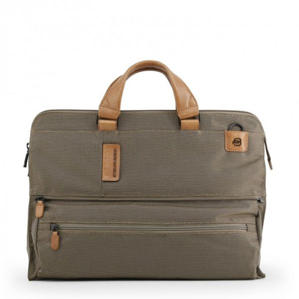 Хоризонтална дамска чанта Piquadro с отделение за 15,6 инча лаптоп и iPad®Air/Pro 9,7