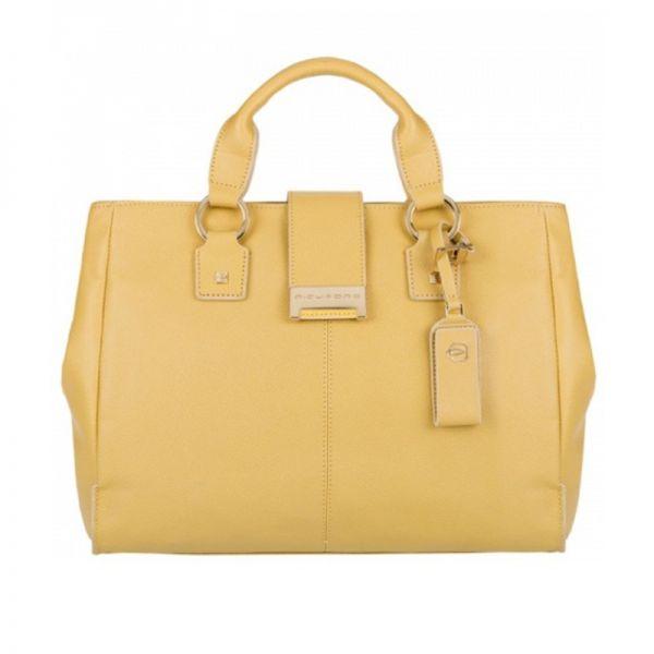 Елегантна дамска чанта Piquadro