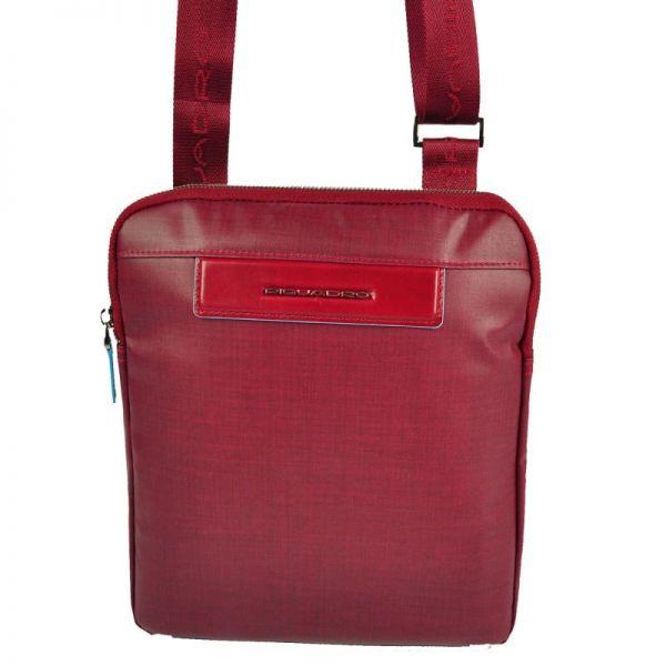 Вертикална чантичка Piquadro с отделениез а iPad mini 2/iPad mini3