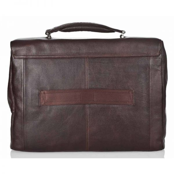 Хоризонтална бизнес чанта Piquadro с две отделениe