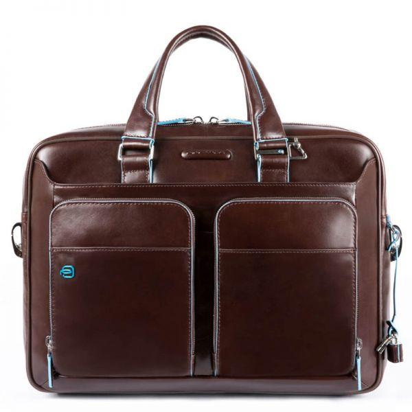 """Бизнес чанта Piquadro за 15"""" лаптоп с едно отделение"""