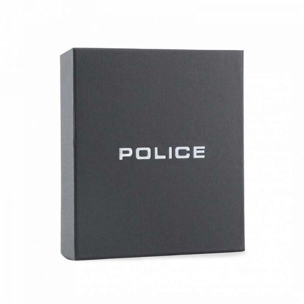 Мъжки портфейл Police Pyramid, с монетник, черен цвят
