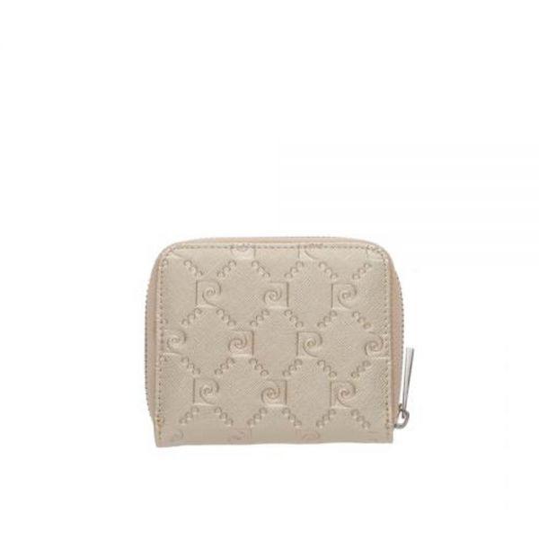 Малко дамско портмоне Pierre Cardin, розова щампа