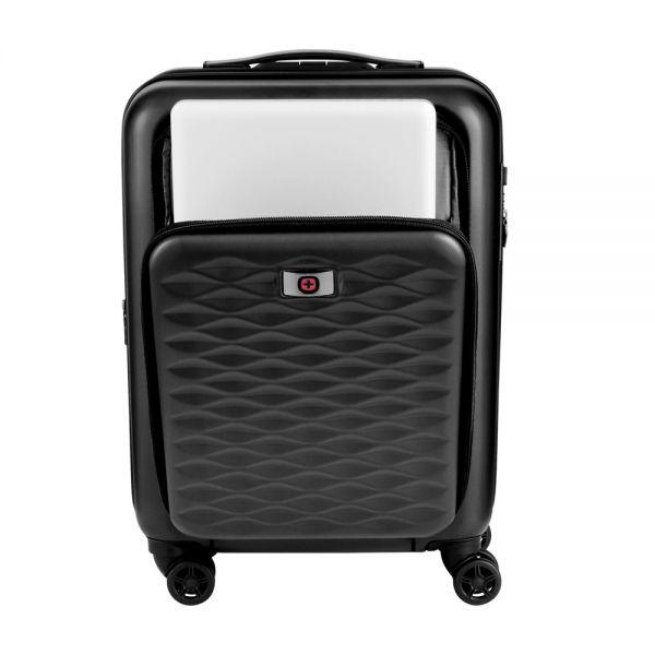 Куфар Wenger Matrix Expandable Hardside Luggage 20'' Carry-On, 32 литра, разтегателен, черен