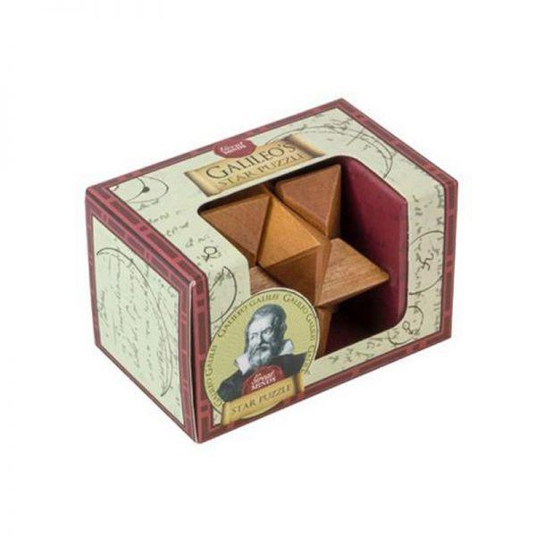 Мини дървен пъзел, Professor Puzzle Da Vinci Cross