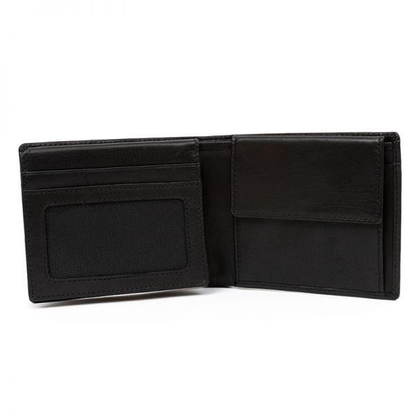 Мъжки портфейл Police Swank, с монетник и допълнително отделение за карти