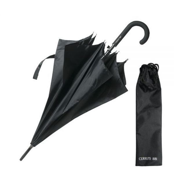 Автоматичен чадър Cerruti 1881 Hamilton Black